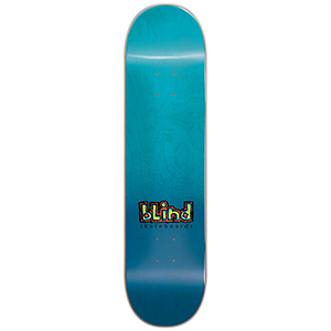 Blind OG Spray Fade RHM Skateboard Deck Blue 7.5