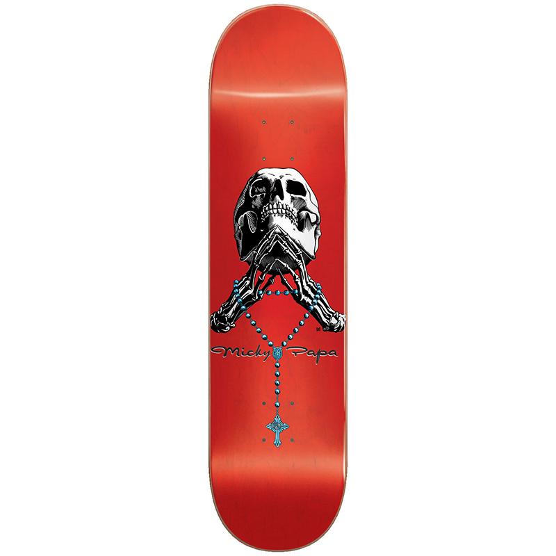 Blind Papa Micky Tribute Rosary Skateboard Deck 8.0