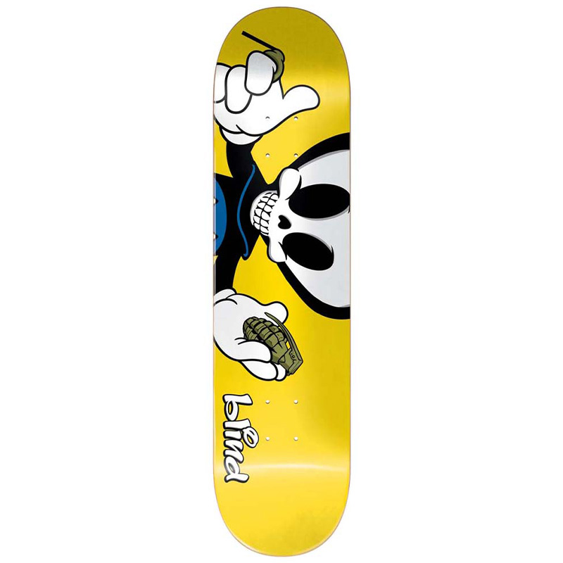 Blind Papa Reaper Character R7 Skateboard Deck 8.0