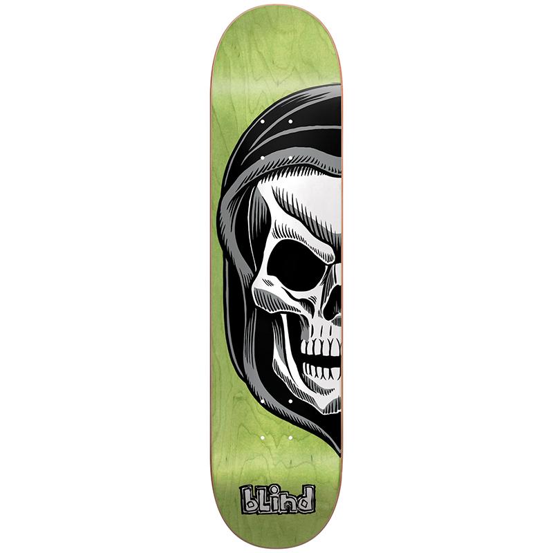 Blind Reaper Split HYB Lime Skateboard Deck 8.0