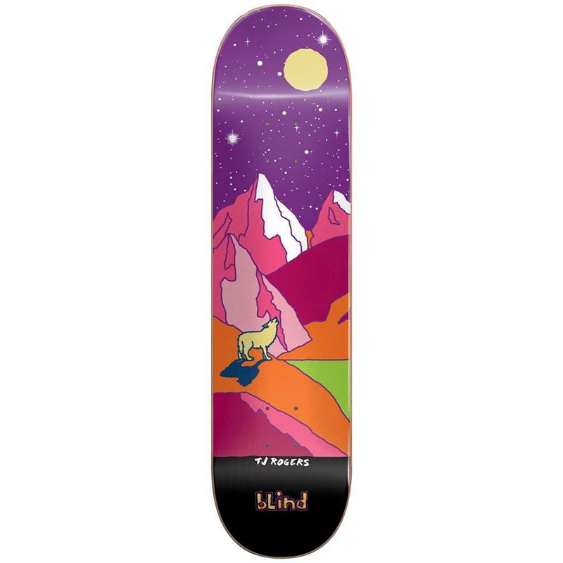 Blind Rogers Landscape HYB Skateboard Deck 8.0