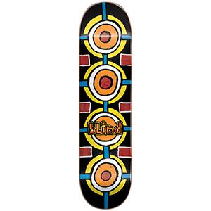 Blind Round Space HYB Skateboard Deck Black 8.0