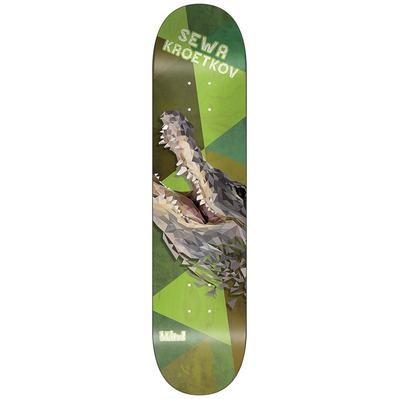 Blind Sewa Polymal R7 Skateboard Deck 8.25