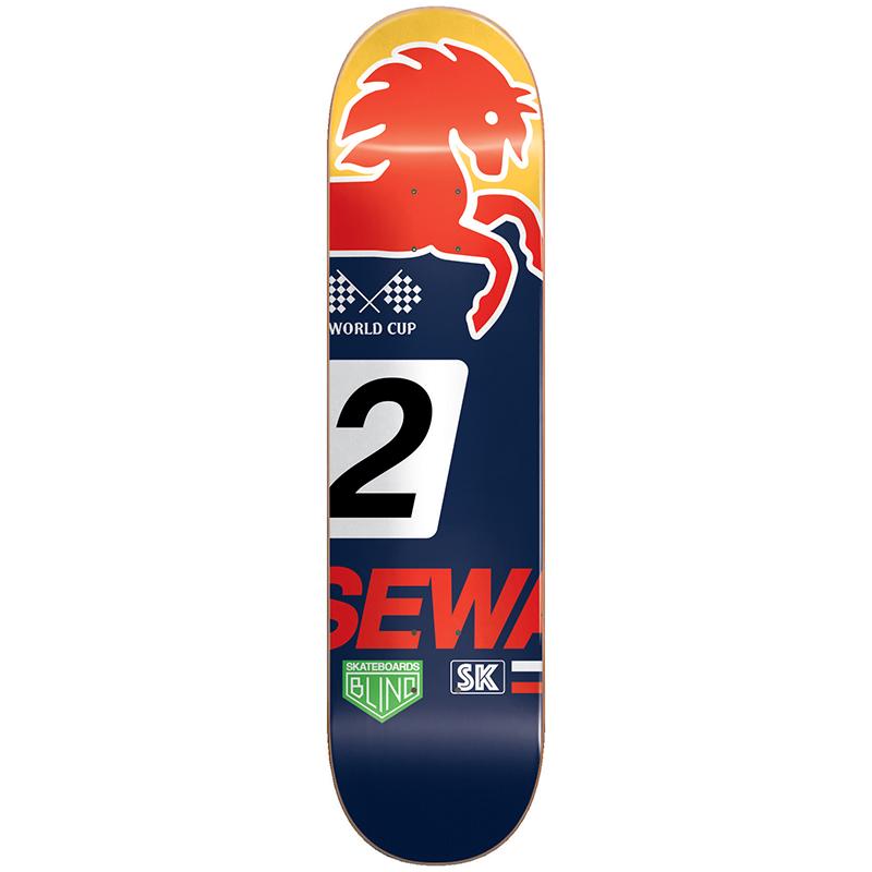Blind Sewa Racer HYB Skateboard Deck 7.75