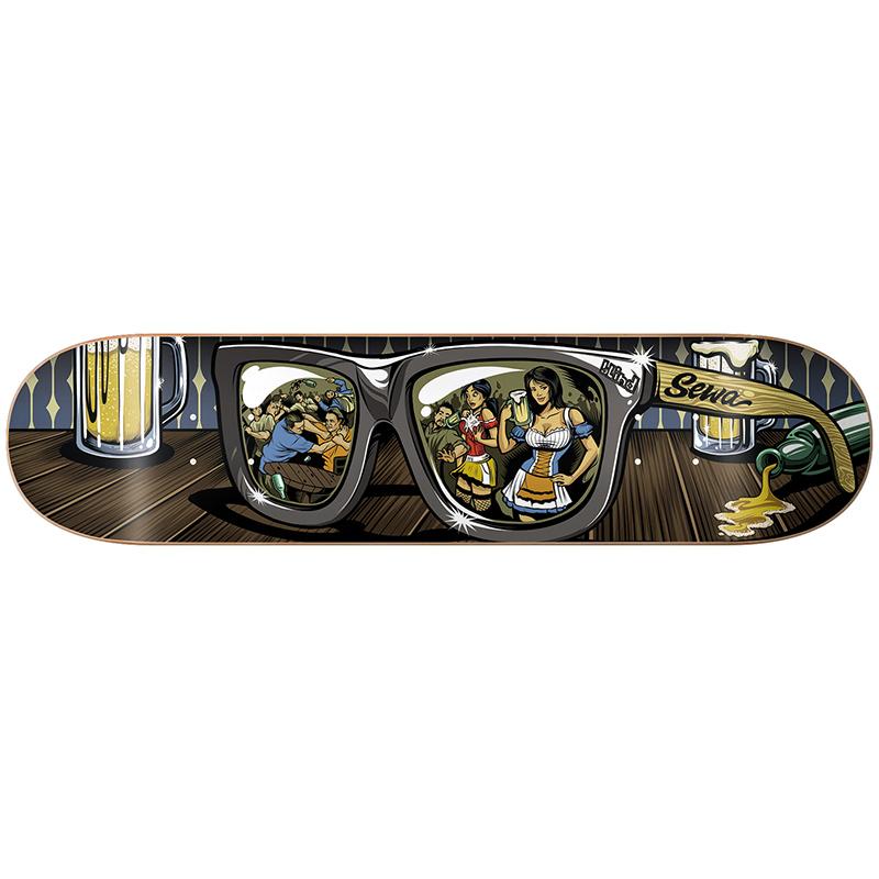 Blind Sewa Shades R7 Skateboard Deck 8.25