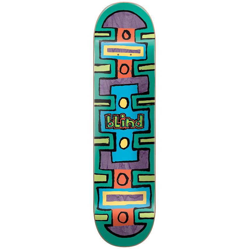 Blind Square Space HYB Skateboard Deck Green 8.25