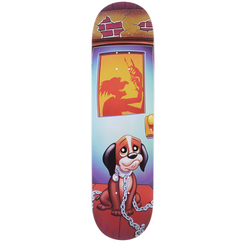 Blind Tim Gavin Dog Pound HT Popsicle Skateboard Deck Multi 8.375