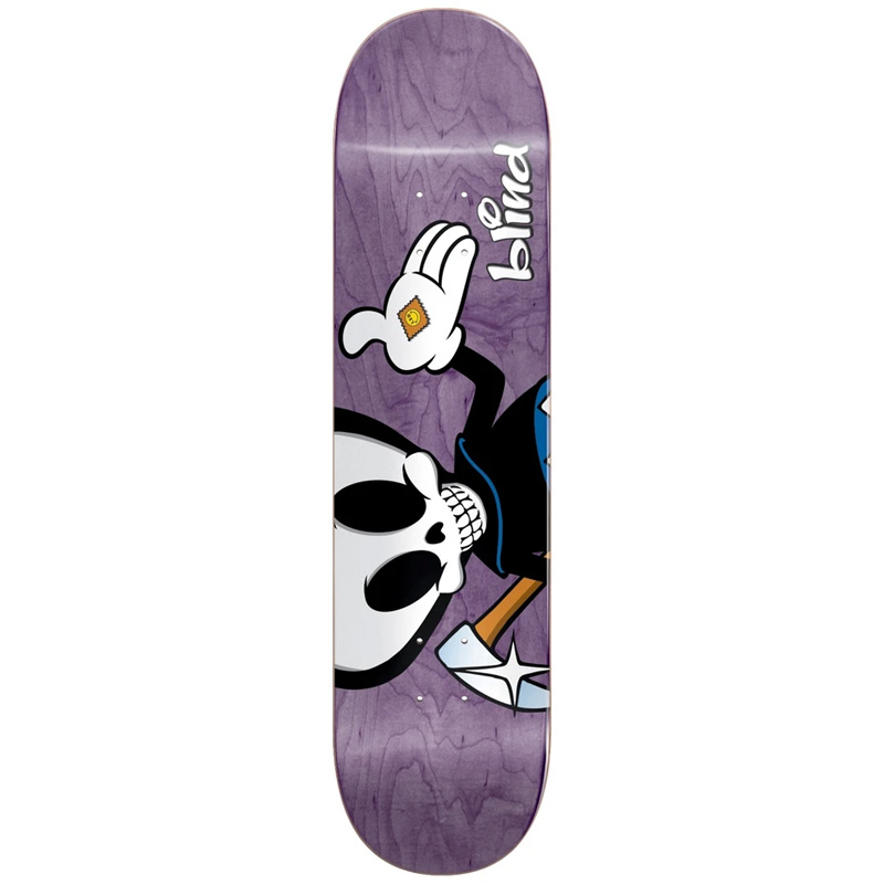 Blind TJ Reaper Character R7 Skateboard Deck 8.0