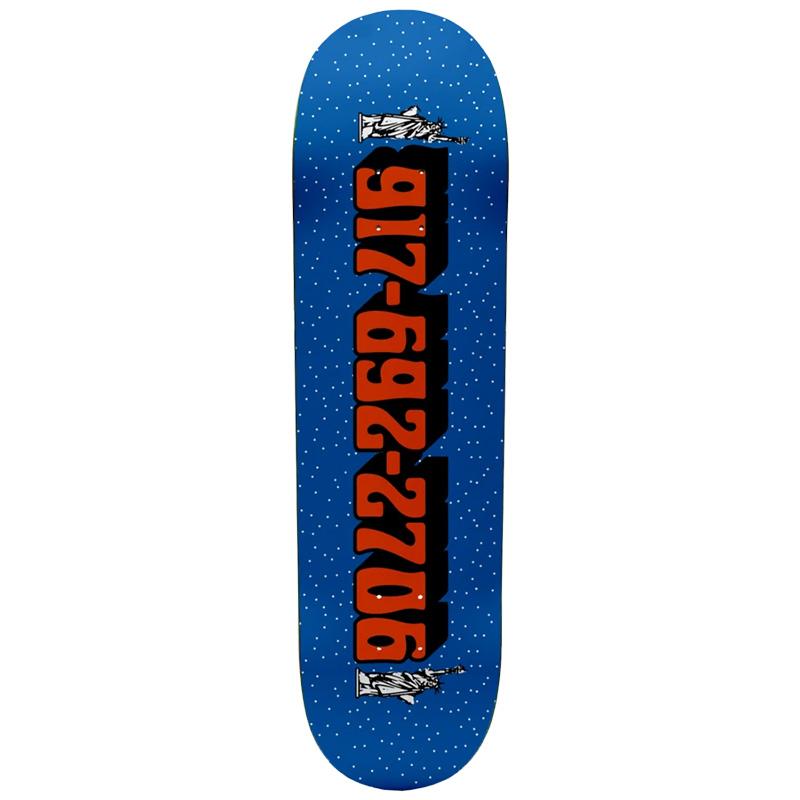 Call Me 917 Sk8nyc Skateboard Deck 8.25 8