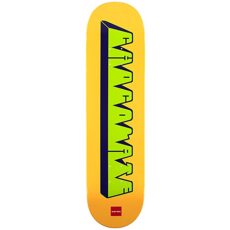 Chocolate Alvarez Bar Logo Skateboard Deck 8.25