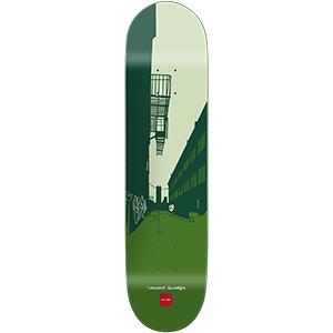 Chocolate Alvarez City Series Skateboard Deck 8.0