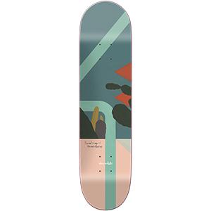 Chocolate Alvarez Hecox Tropical Skateboard Deck 8.0