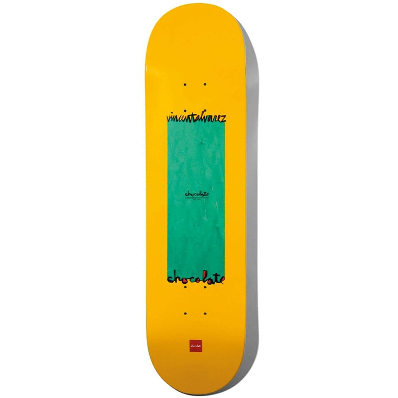 Chocolate Alvarez Long Chunk Skateboard Deck 8.25