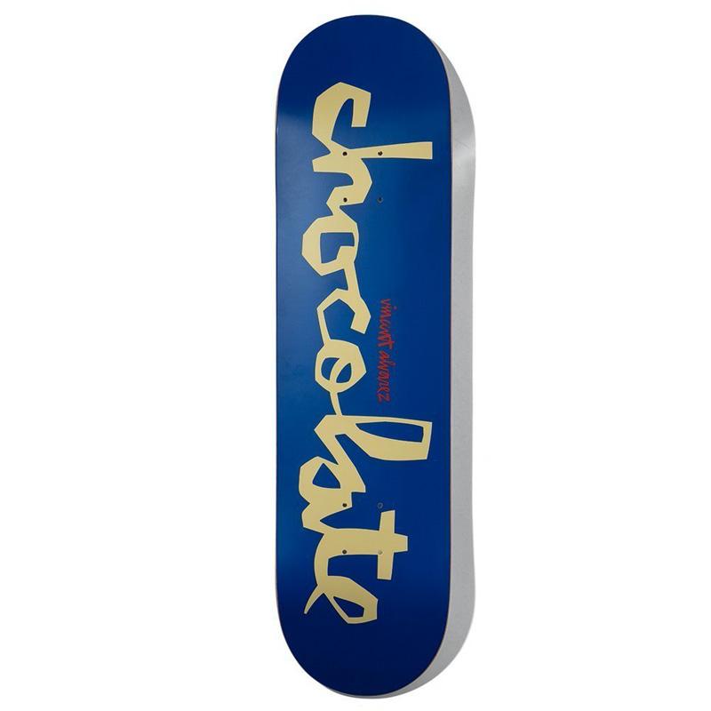 Chocolate Alvarez Og Chunk Skateboard Deck 7.75