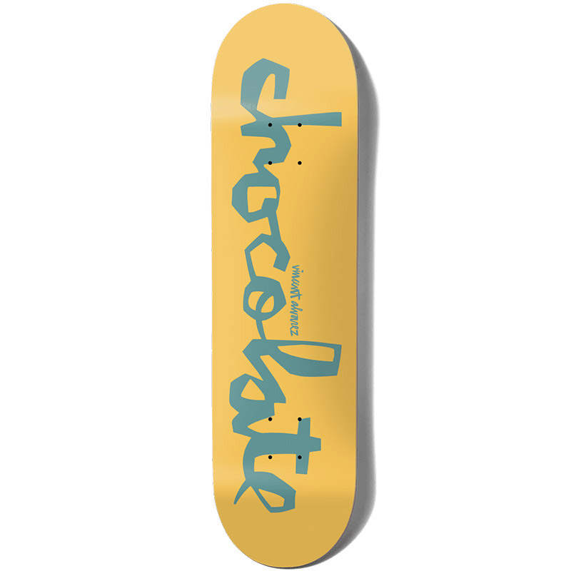 Chocolate Alvarez OG Chunk Skateboard Deck 8.25