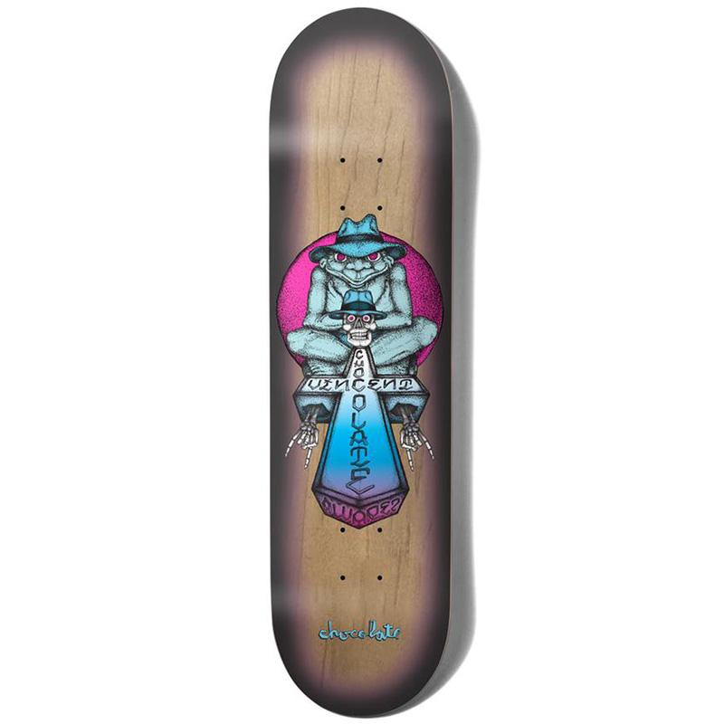 Chocolate Alvarez Sapo One Off Skateboard Deck 8.25