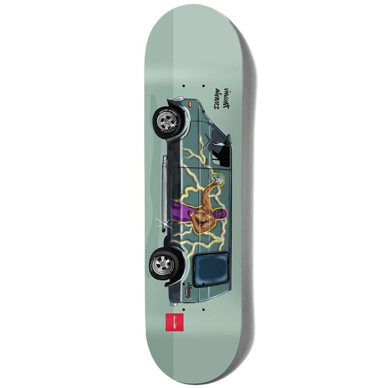 Chocolate Alvarez Vanners Skateboard Deck 8.0