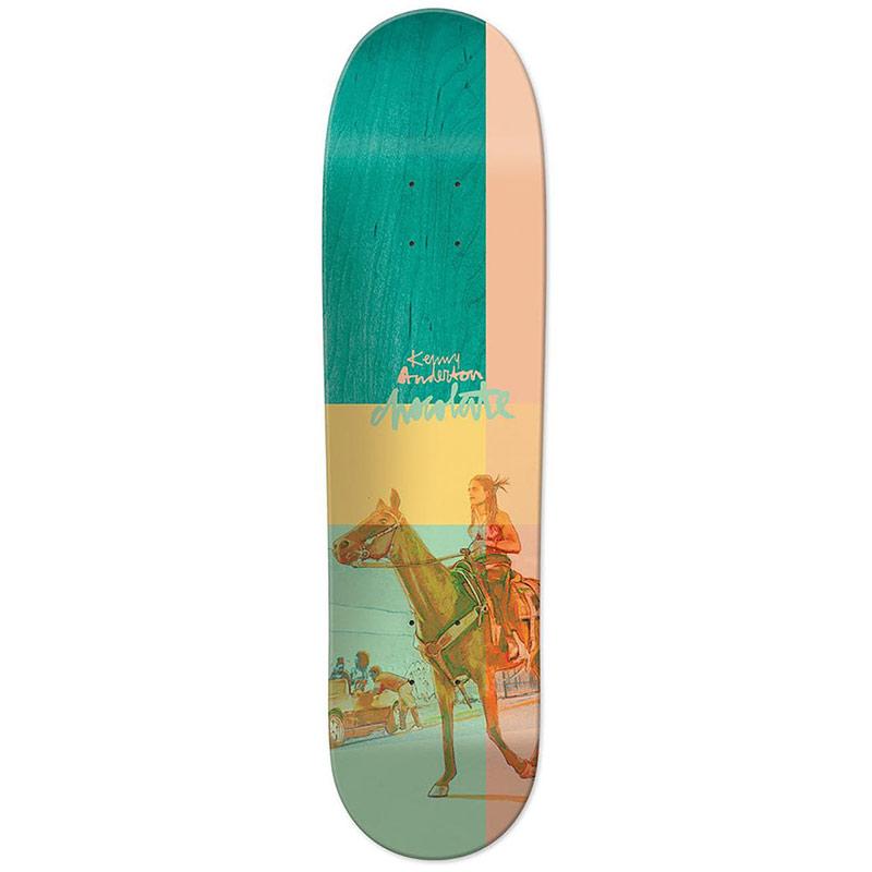 Chocolate Anderson City Cowboys Skateboard Deck 8.125