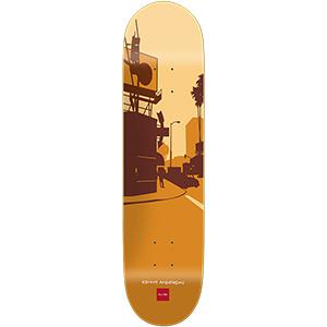Chocolate Anderson City Series Skateboard Deck 8.125