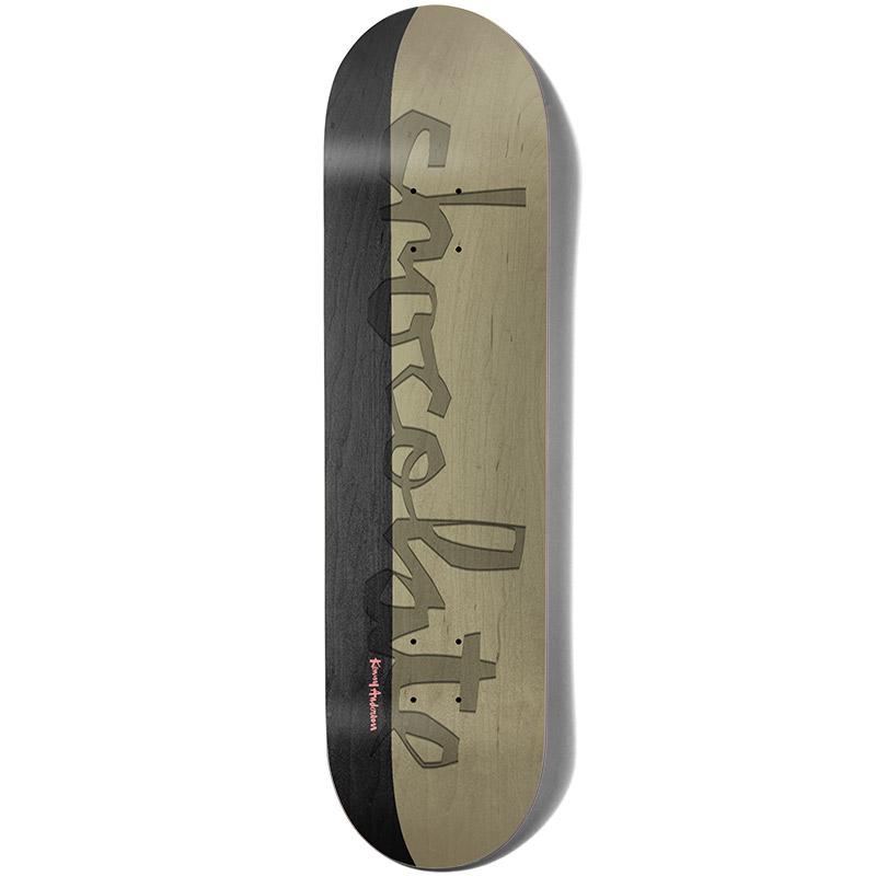 Chocolate Anderson Debossed Original Chunk Skateboard Deck 8.125