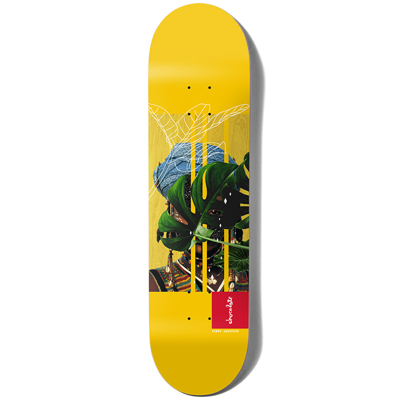 Chocolate Anderson Divine Sublime Skateboard Deck 8.0