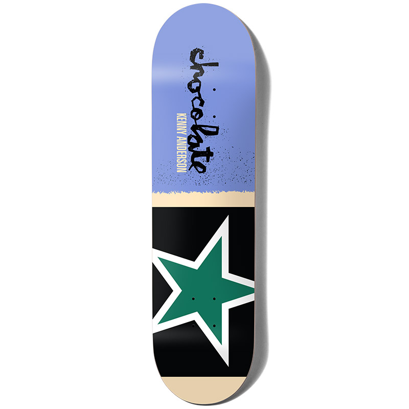 Chocolate Anderson Giant Flags Skateboard Deck 8.0