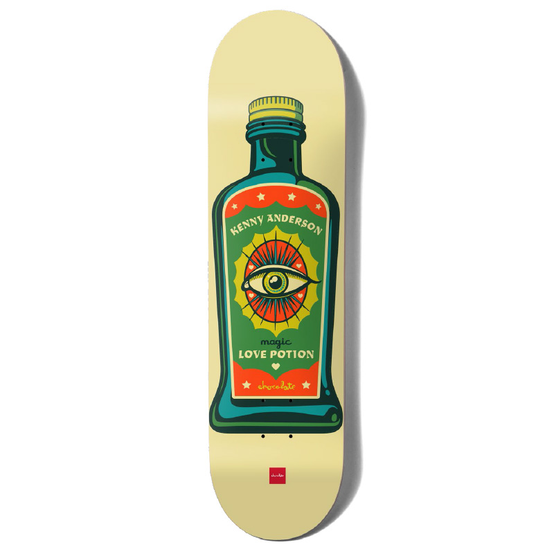 Chocolate Anderson Hecox Essentials Skateboard Deck 8.25