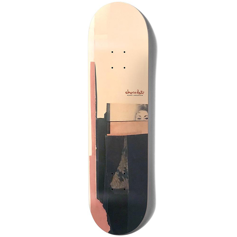 Chocolate Anderson Minimal Series Skateboard Deck 8.0