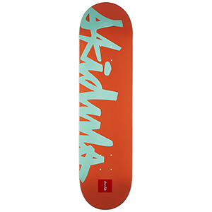 Chocolate Anderson Nick Names Skateboard Deck 8.5