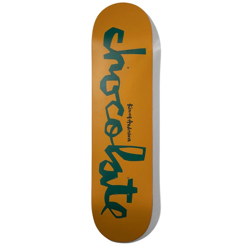 Chocolate Anderson OG Chunk Skateboard Deck 8.0