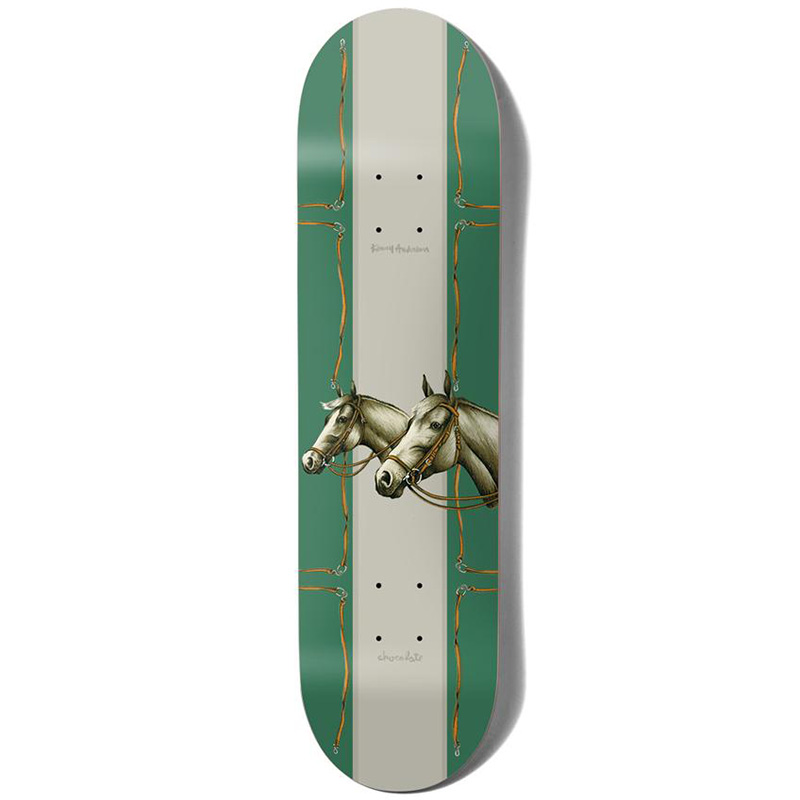 Chocolate Anderson Rancho One Off Skateboard Deck 8.25