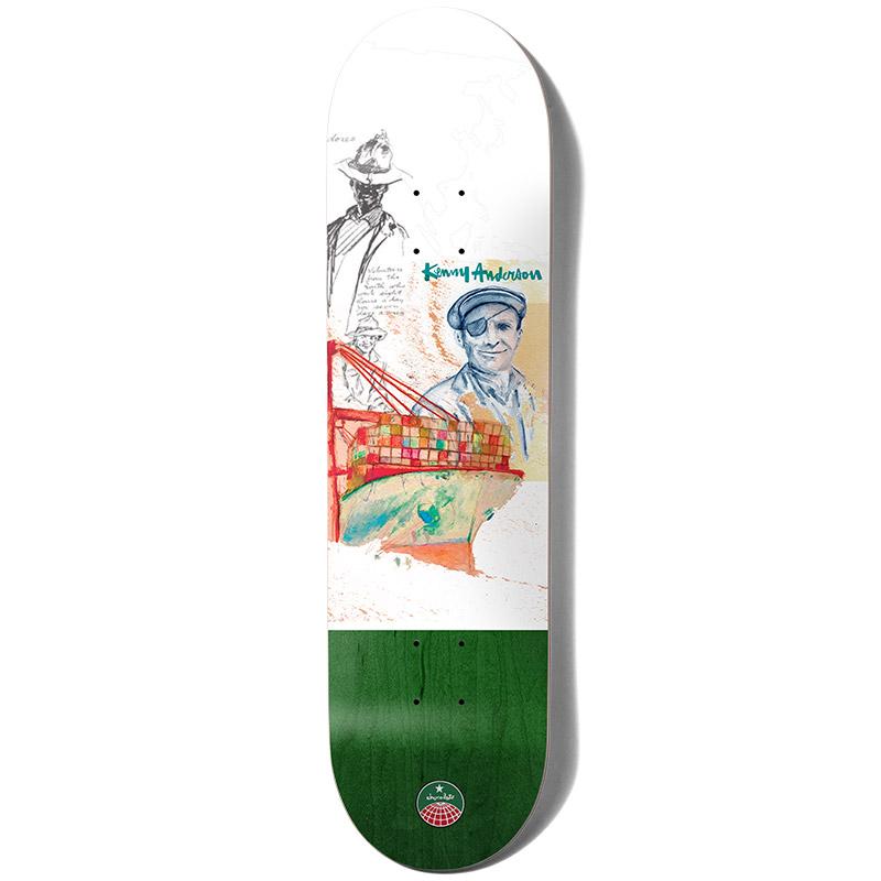 Chocolate Anderson Stevedore Skateboard Deck 8.0