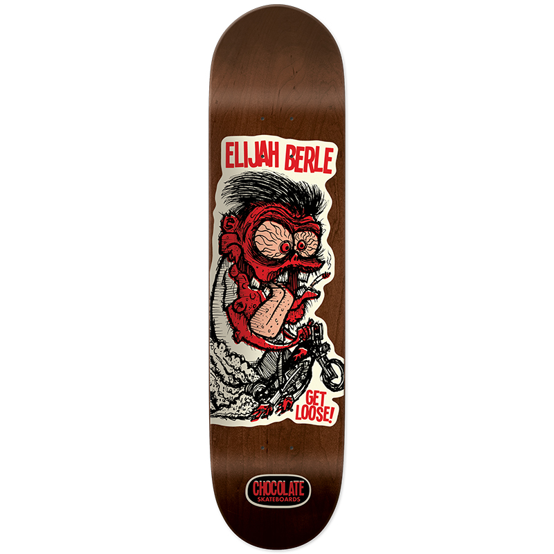 Chocolate Berle Get Loose Skateboard Deck 8.5