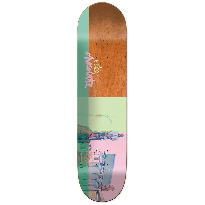 Chocolate Brenes City Cowboys Skateboard Deck 8.25