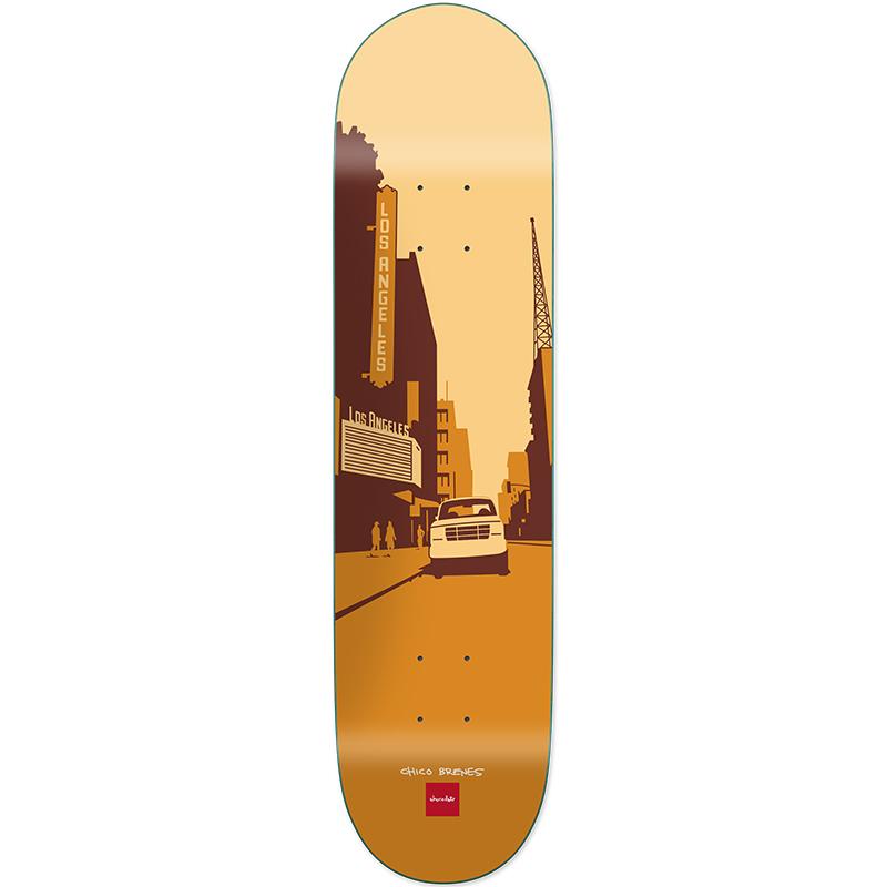 Chocolate Brenes City Series Skateboard Deck 8.25