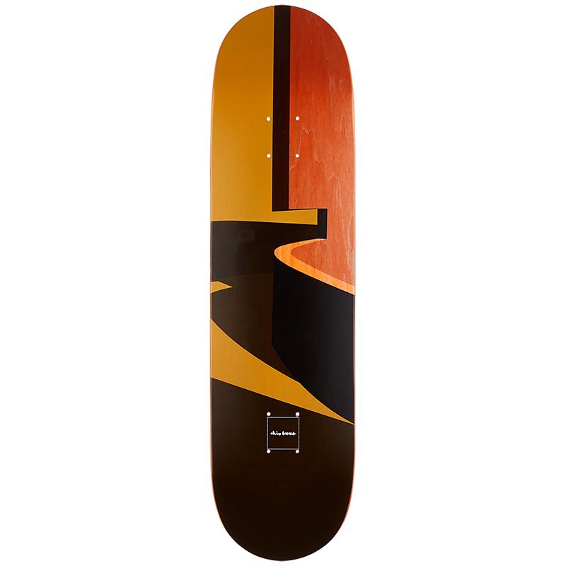 Chocolate Chico Brenes Minimalist Skateboard Deck 8.25