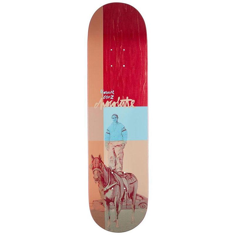 Chocolate Cruz City Cowboys Skateboard Deck 8.0