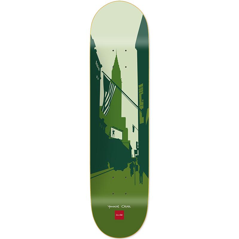 Chocolate Cruz City Series Skateboard Deck 8.125