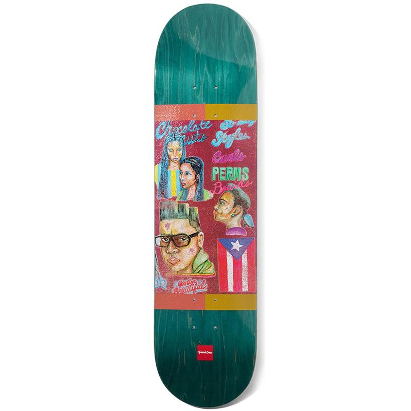 Chocolate Cruz Cuts Skateboard Deck 8.1875