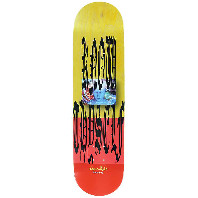 Chocolate Cruz Don't Trip Deck 8.0