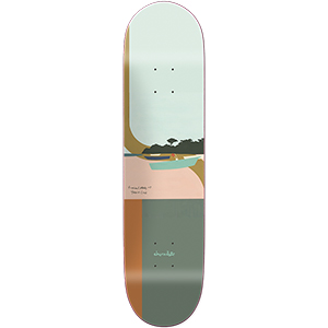 Chocolate Cruz Hecox Tropical Skateboard Deck 8.0