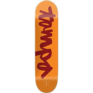 Chocolate Cruz Hometown Chunk Skateboard Deck 8.125
