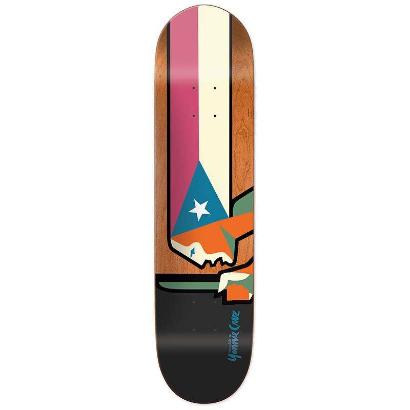 Chocolate Cruz Lady One Off Skateboard Deck 8.25