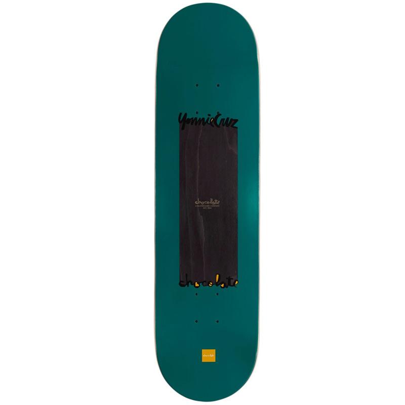 Chocolate Cruz Long Chunk Skateboard Deck 8.375