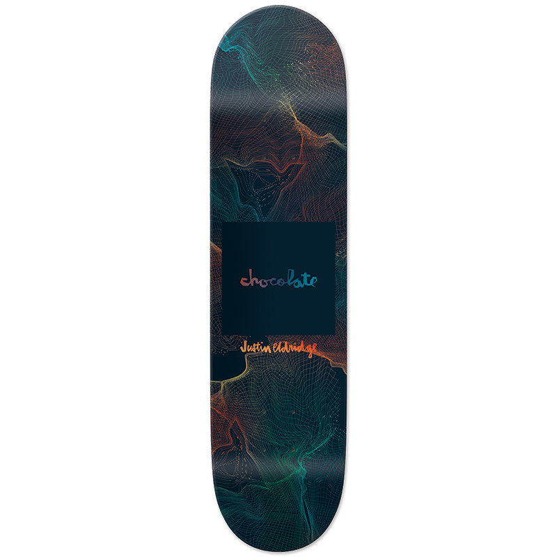 Chocolate Eldridge Gravity Skateboard Deck 8.0