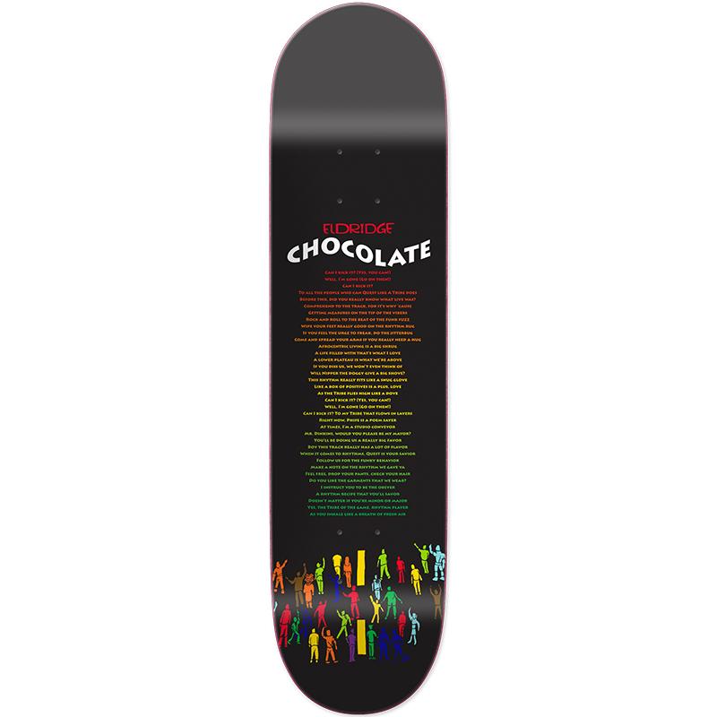 Chocolate Eldridge Liner Notes Skateboard Deck 8.25