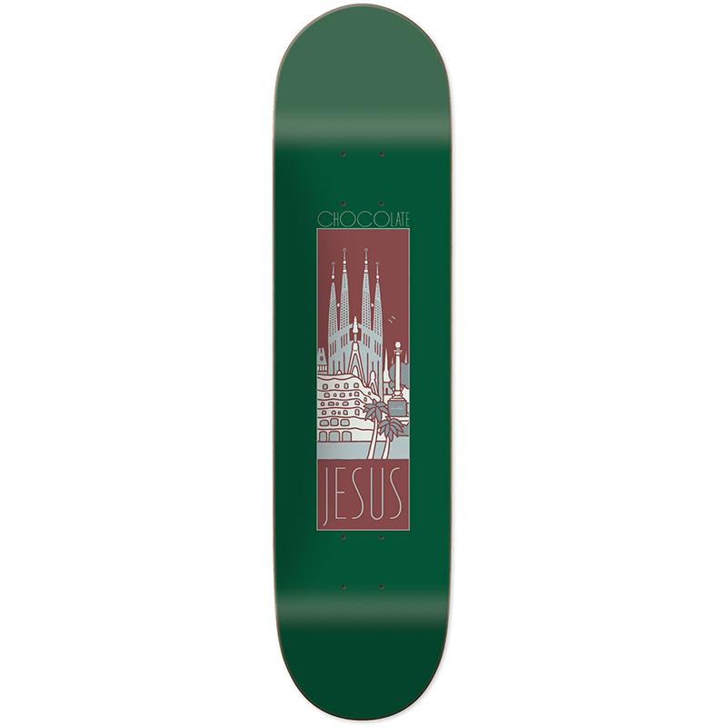 Chocolate Fernandez Barce One Off Skateboard Deck 8.125
