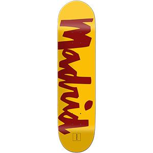Chocolate Fernandez Hometown Chunk Skateboard Deck 8.25