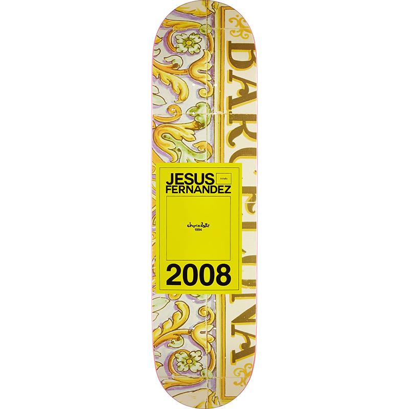 Chocolate Fernandez Inaugural Year Skateboard Deck 8.0