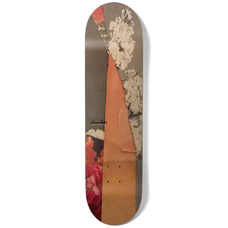 Chocolate Fernandez Minimal Series Skateboard Deck 8.125